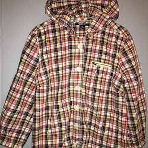 Plaid Jacket Sz M