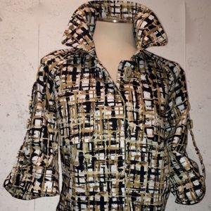 Jackets & Blazers - Neutral Trench Sz L
