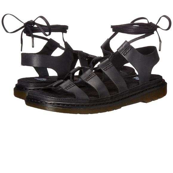 92e708c66ab8 Dr. Martens Shoes - Dr. Martens Kristina Ghillie Sandal.