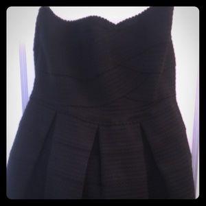 Gabriella Rocha strapless black dress. Worn once!