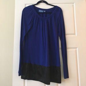 Simply Vera Vera Wang Tops - Simply Vera tunic royal blue/black size medium