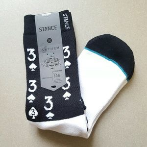 "Stance Other - Stance ""Aces"" Allen Iverson Collection socks - M"