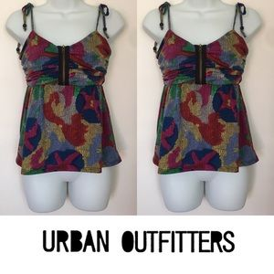 Urban Outfitters Tops - 🍍CLEARANCE🍍 Kimchi Blue Bow Strap Colorful Tank