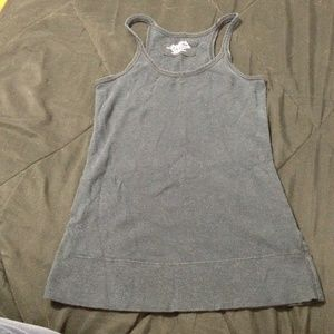 Tops - Black knit racerback tank