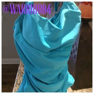 ASSETS by Sara Blakely Other - Assets Turquoise One Piece Swim Suit Size Medium