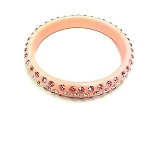 Jewelry - Beautiful pink sparkly bangle bracelet