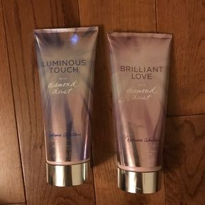 Victoria's Secret Other - *SOLD ON MERC* Bundle of 2 VS diamond dust lotions