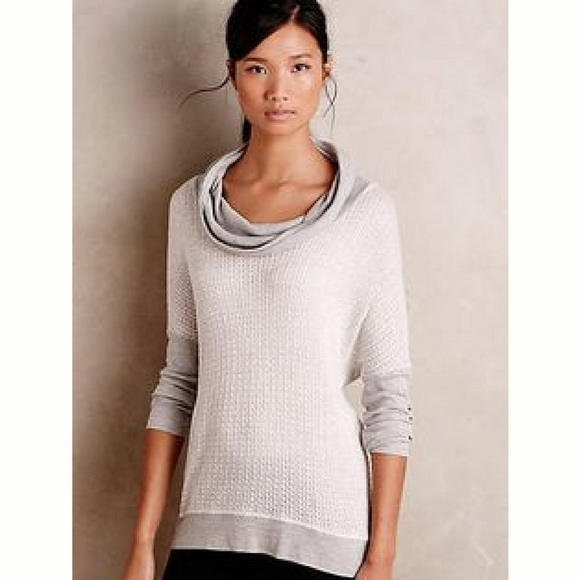 73% off Anthropologie Sweaters - Anthropologie Lightweight Cowl ...