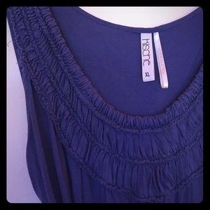Kische Tops - Kische dark lavender top