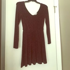 Charlotte Russe Long-Sleeved Party Dress