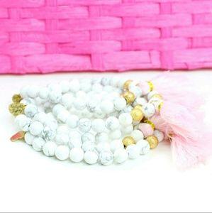 Twilight Gypsy Collective Jewelry - Beautiful Marble Tassle Bracelet