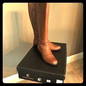 """Corso Como Shoes - Corsica Como """"Samuel"""" Boots in 'Brandy' Color"""