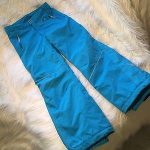 Spyder Other - Girls Spyder Ski Pants size 12 Turquoise
