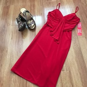 Hot Kiss Dresses & Skirts - NWT Red Spaghetti Strap Juniors Dress