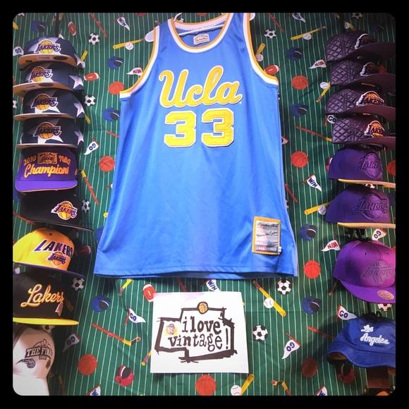 info for a6c76 725f4 VintAge UCLA Bruins Lew Alcindor Basketball Jersey