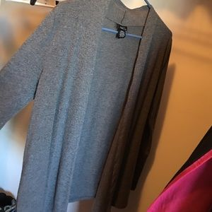 Cardigan, thin, stretchy material