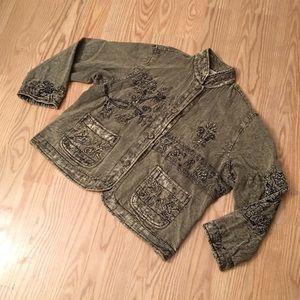 flashback Jackets & Blazers - FLASHBACK VINTAGE Boho jacket