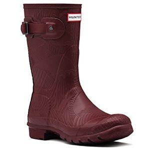 Hunter Shoes - WOMEN'S ORIGINAL SHORT WAVE TEXTURE RAIN BOOTS