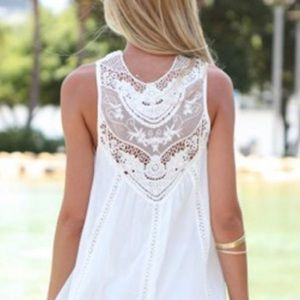 💗NEW 💗 1 LEFT 💗White Dress or Top💗