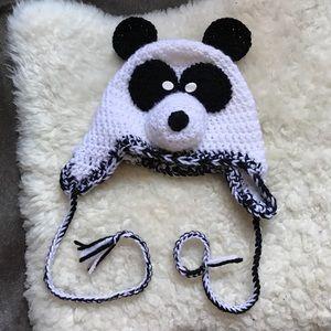 Costume Baldor Other - Panda Knit Kids Hat