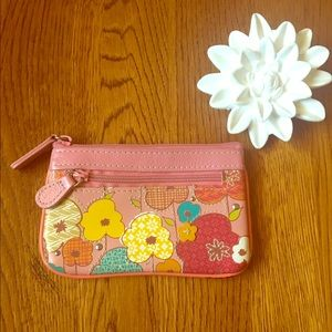 Fossil Accessories - Fossil abstract floral coin pouch 🌷