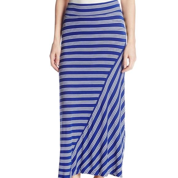 c9a2b3012 Kensie Skirts | Bright Cobalt Combo Maxi Skirt | Poshmark