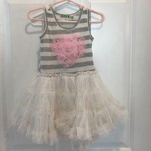 Little Miss Other - EUC little mass tutu dress- size 3t