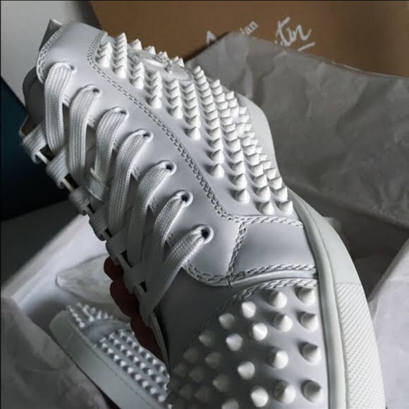 check out bb0e5 3651a Christian Louboutin men spike sneakers Boutique