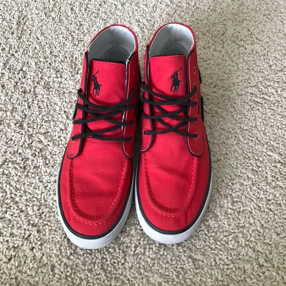 Polo by Ralph Lauren Shoes   Red Polo