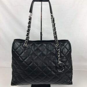 Michael Kors Handbags - Michael Kors Susannah Quilted Leather Tote