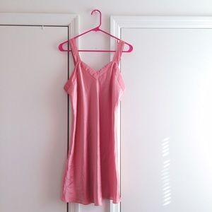 Talbots Pink Slip Dress