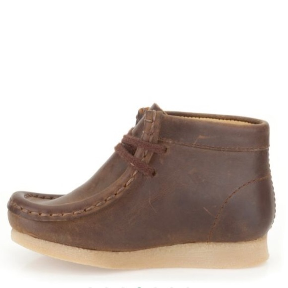 Toddler Boys Clarks Wallabee Boots