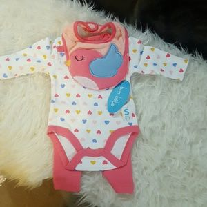 Bon Bebe Other - 🎀💖Ntw, 3 piece cute snuggely birdie set