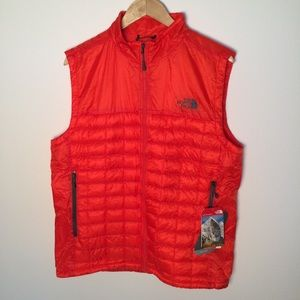 The North Face Other - Men's Orange Puffy North Face Vest Thermoball