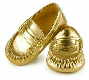 Trumpette Other - Trumpette Gold Loafers