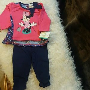 Disney Other - 🎀🍼Nwt, sweet, 2piece Minnie Mouse outfit