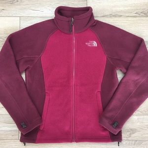 North Face Full ZipUp Fleece Jacket XS