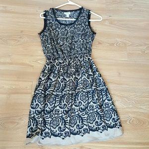 Rodarte for target black geometric dress