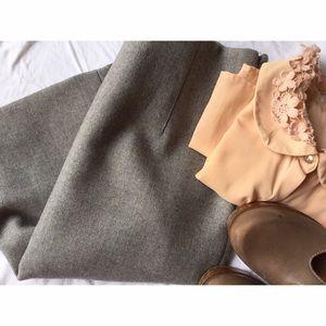 J.Crew - Wool Pencil Skirt - Size 8