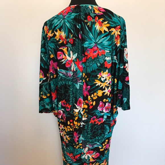 Vintage Dresses - Vintage 70's Floral House Dress