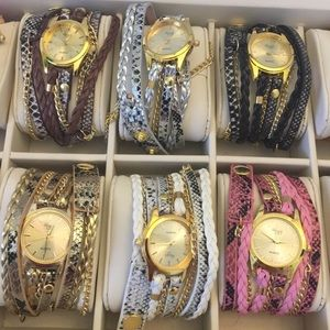 Accessories - ⛱2for15$ BOHO wrap bracelet watches choice/ color
