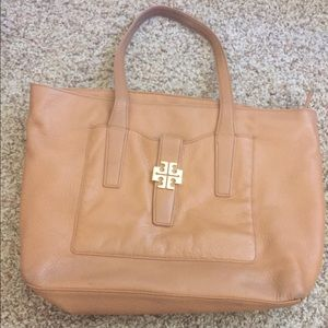 Tory Burch large leather bag
