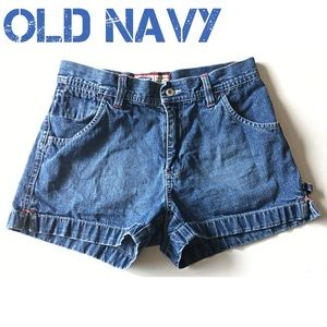 Old Navy Pants - Old Navy Cargo Shorts Denim Blue Jean 2