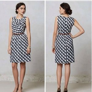 Anthropologie: Hi There Shift Dress with belt!