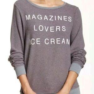 NWT WILDFOX pullover jumper sweatshirt S