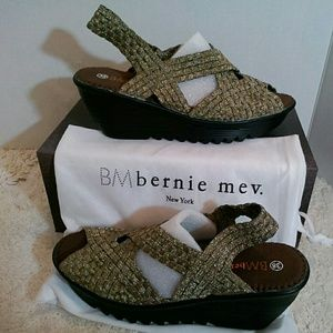 bernie mev. Shoes - Bernie Mev woven platform