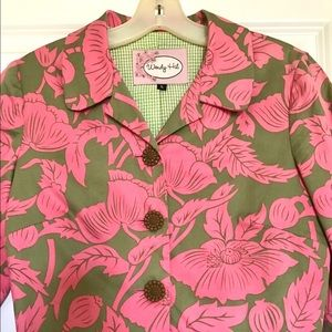 Wendy Hill floral jacket