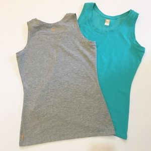 Lucy Tops - Two Lucy workout tanks - size Medium