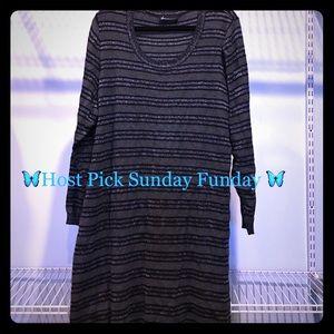 Lane Bryant Dresses & Skirts - Plus size Lane Bryant long sleeve sweater dress