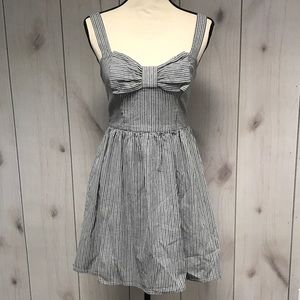 Fire Los Angeles Dresses & Skirts - Striped bow tie back sundress